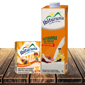 vitamina de frutas Ibituruna